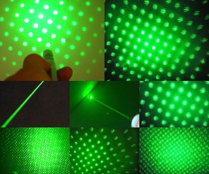 Green Laser Pointer with effects