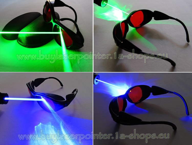 Laser safety glasses for green laser